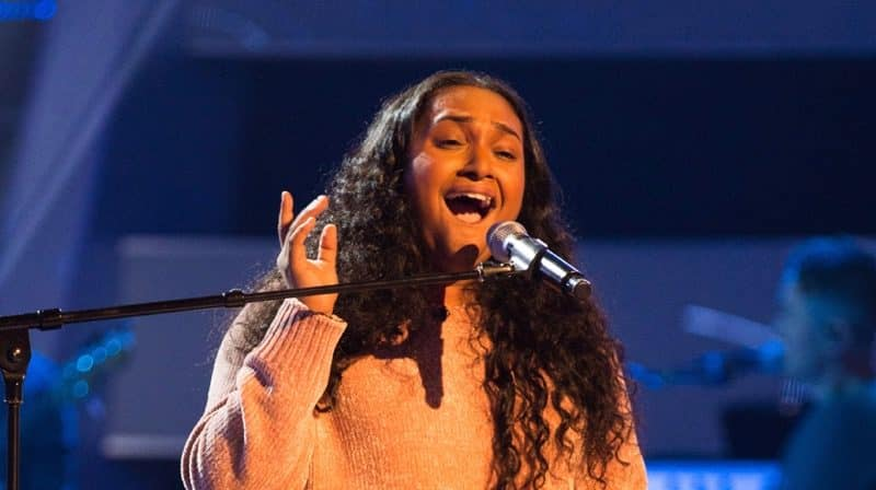 Gayatri Nair Blind Audition ITV The Voice UK Video